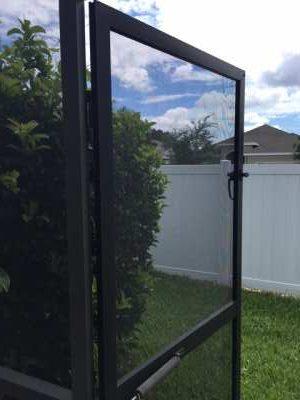 Screen door repairs